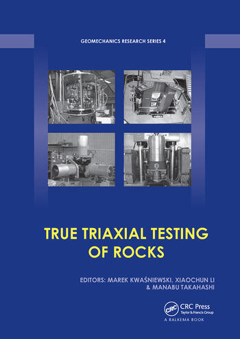 True Triaxial Testing of Rocks book cover