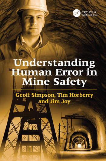 Understanding Human Error in Mine Safety book cover