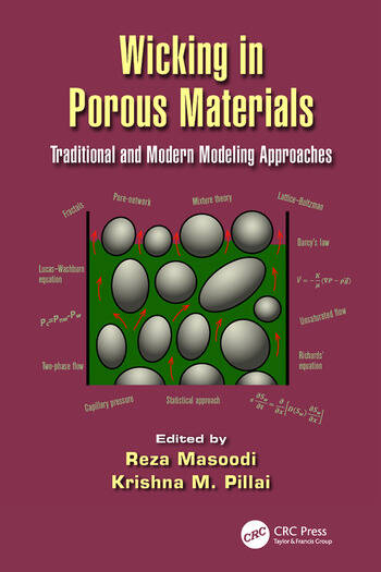Wicking in Porous Materials Traditional and Modern Modeling Approaches book cover