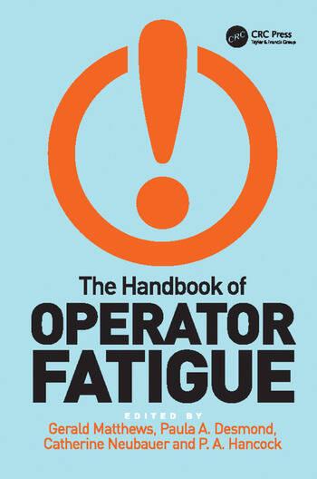 The Handbook of Operator Fatigue book cover
