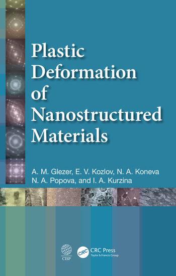 Plastic Deformation of Nanostructured Materials book cover