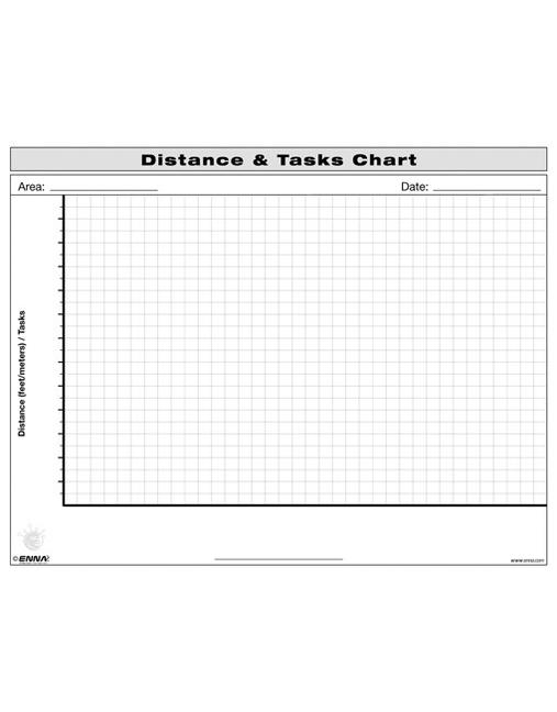 Distance and Tasks Chart book cover