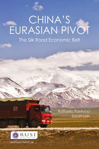 China's Eurasian Pivot The Silk Road Economic Belt book cover