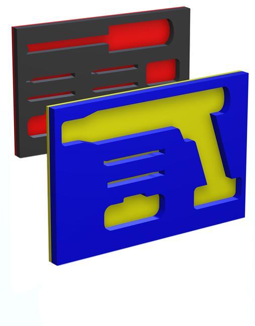 Tool Kit Foam: Yellow/Blue book cover