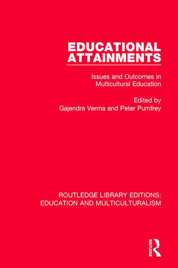 Educational Attainments Issues and Outcomes in Multicultural Education book cover
