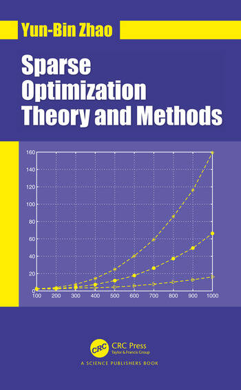 Sparse Optimization Theory and Methods book cover