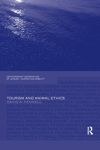 Tourism and Animal Ethics book cover