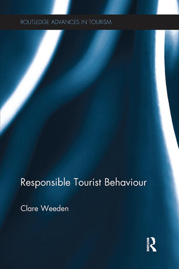 Responsible Tourist Behaviour book cover