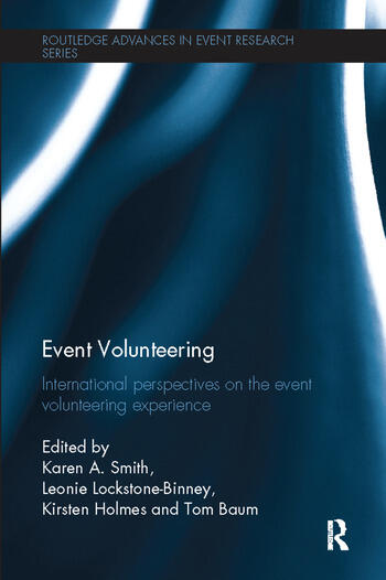 Event Volunteering. International Perspectives on the Event Volunteering Experience book cover