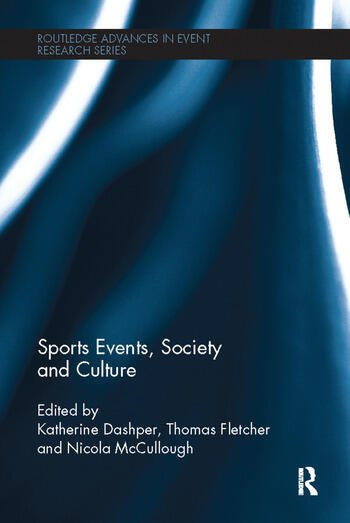 Sports Events, Society and Culture book cover