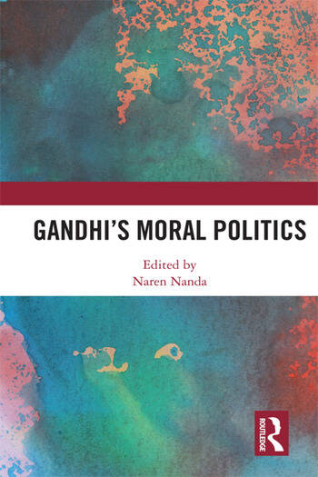 Gandhi's Moral Politics book cover