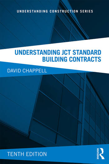 Understanding Jct Standard Building Contracts Crc Press Book