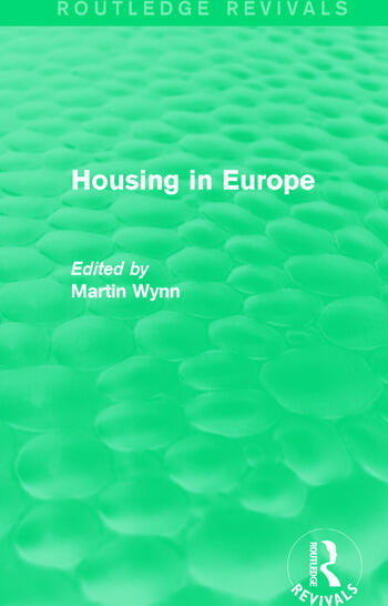 Routledge Revivals: Housing in Europe (1984) book cover