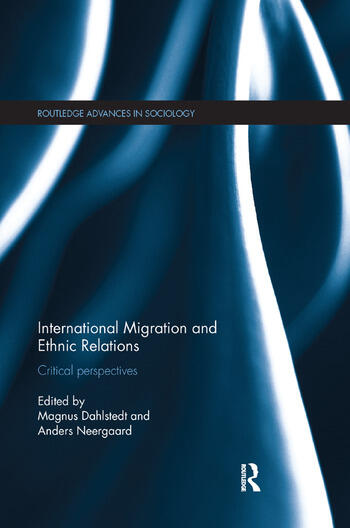 International Migration and Ethnic Relations Critical Perspectives book cover