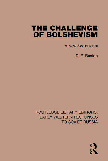 The Challenge of Bolshevism A New Social Deal book cover