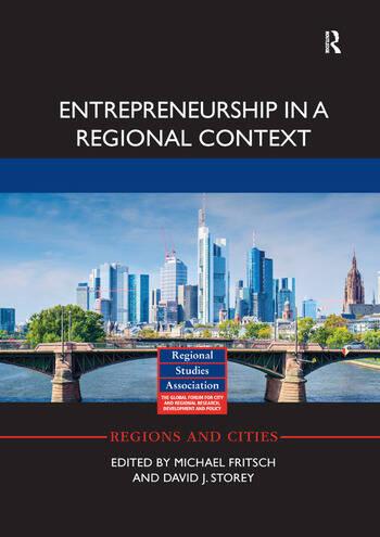 Entrepreneurship in a Regional Context book cover