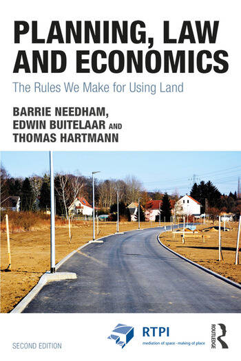 Planning, Law and Economics The Rules We Make for Using Land book cover