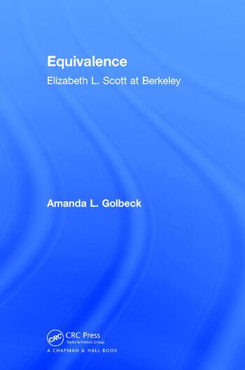 Equivalence Elizabeth L. Scott at Berkeley book cover