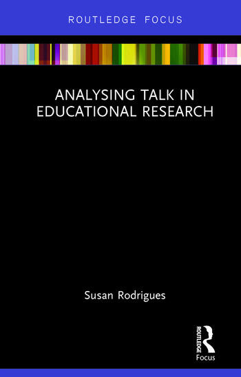 Analysing Talk in Educational Research book cover