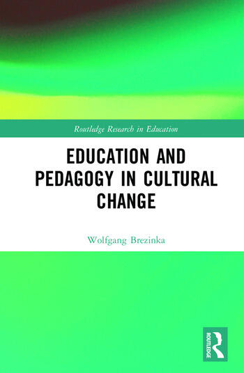 Education and Pedagogy in Cultural Change book cover