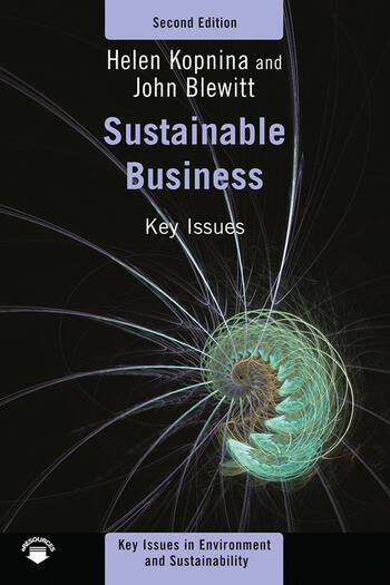 Sustainable Business Key Issues book cover