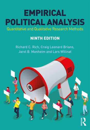 Empirical Political Analysis Quantitative and Qualitative Research Methods book cover