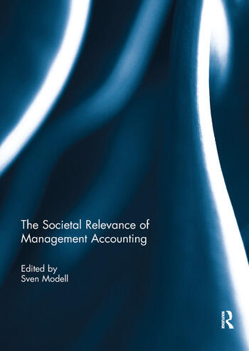 The Societal Relevance of Management Accounting book cover