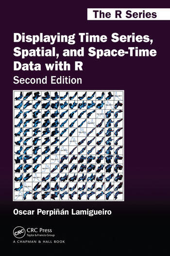 Displaying Time Series, Spatial, and Space-Time Data with R book cover