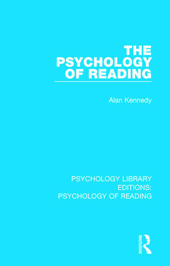 The Psychology of Reading book cover