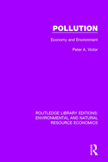 Pollution Economy and Environment book cover