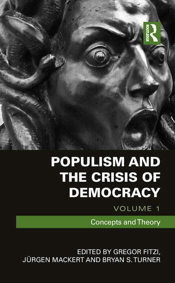 Populism and the Crisis of Democracy Volume 1: Concepts and Theory book cover