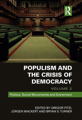 Populism and the Crisis of Democracy Volume 2: Politics, Social Movements and Extremism book cover