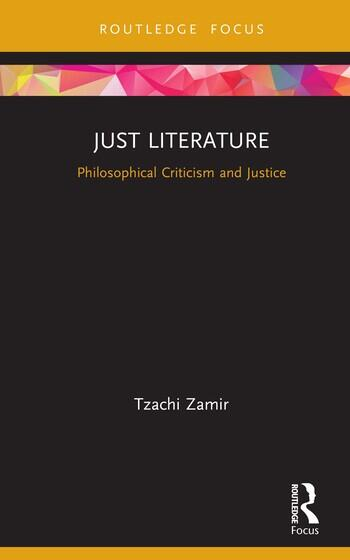 Just Literature Philosophical Criticism and Justice book cover