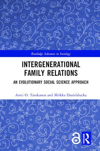 Intergenerational Family Relations An Evolutionary Social Science Approach book cover