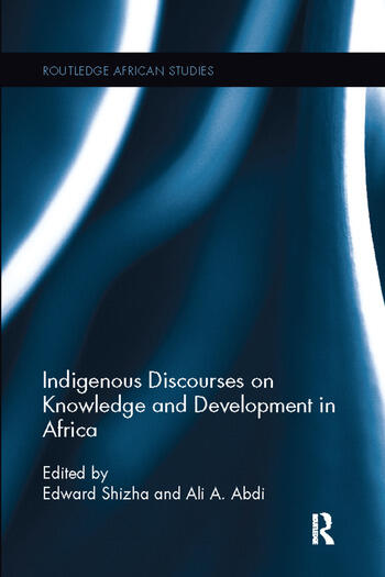 Indigenous Discourses on Knowledge and Development in Africa book cover