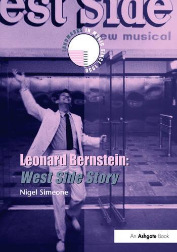 Leonard Bernstein: West Side Story book cover