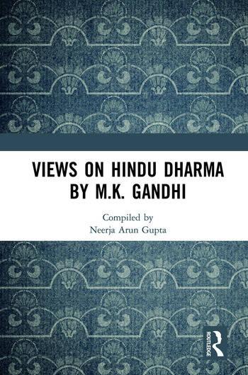 Views on Hindu Dharma by M.K. Gandhi book cover