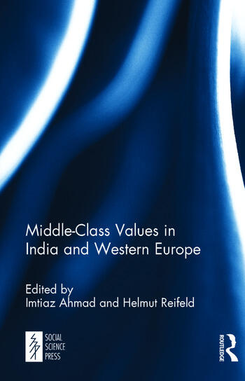 Middle-Class Values in India and Western Europe book cover