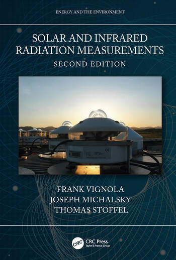 Solar and Infrared Radiation Measurements, Second Edition book cover