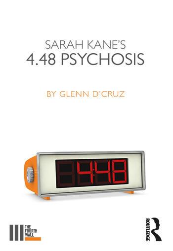 Sarah Kane's 4.48 Psychosis book cover