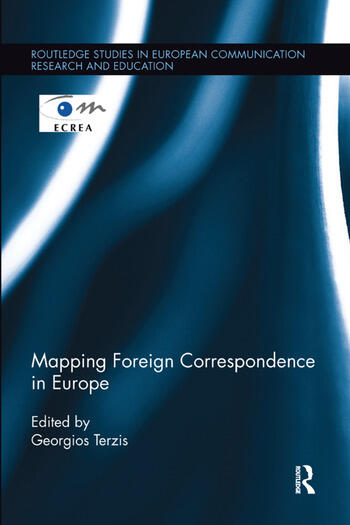 Mapping Foreign Correspondence in Europe book cover