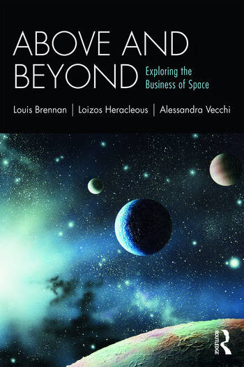 Above and Beyond Exploring the Business of Space book cover