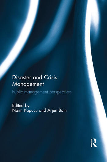 Disaster and Crisis Management Public Management Perspectives book cover