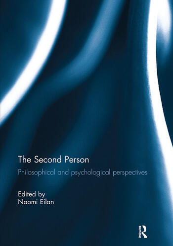 The Second Person Philosophical and Psychological Perspectives book cover