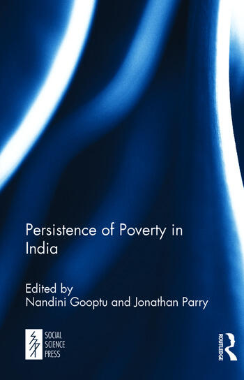Persistence of Poverty in India book cover