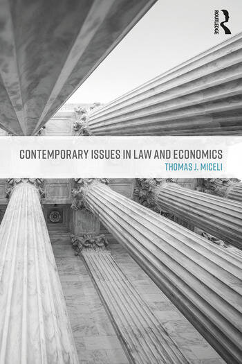 Contemporary Issues in Law and Economics book cover