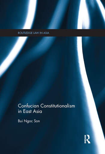 Confucian Constitutionalism in East Asia book cover