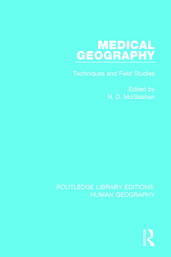 Medical Geography Techniques and Field Studies book cover