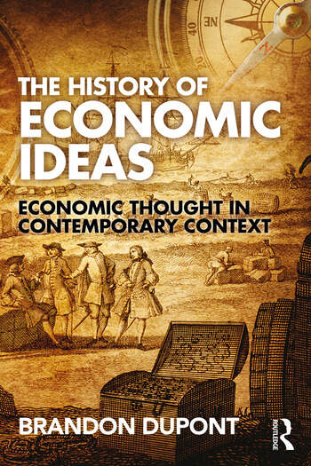 The History of Economic Ideas Economic Thought in Contemporary Context book cover