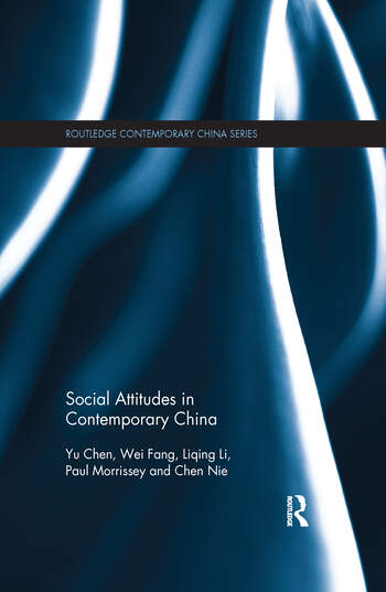 Social Attitudes in Contemporary China book cover